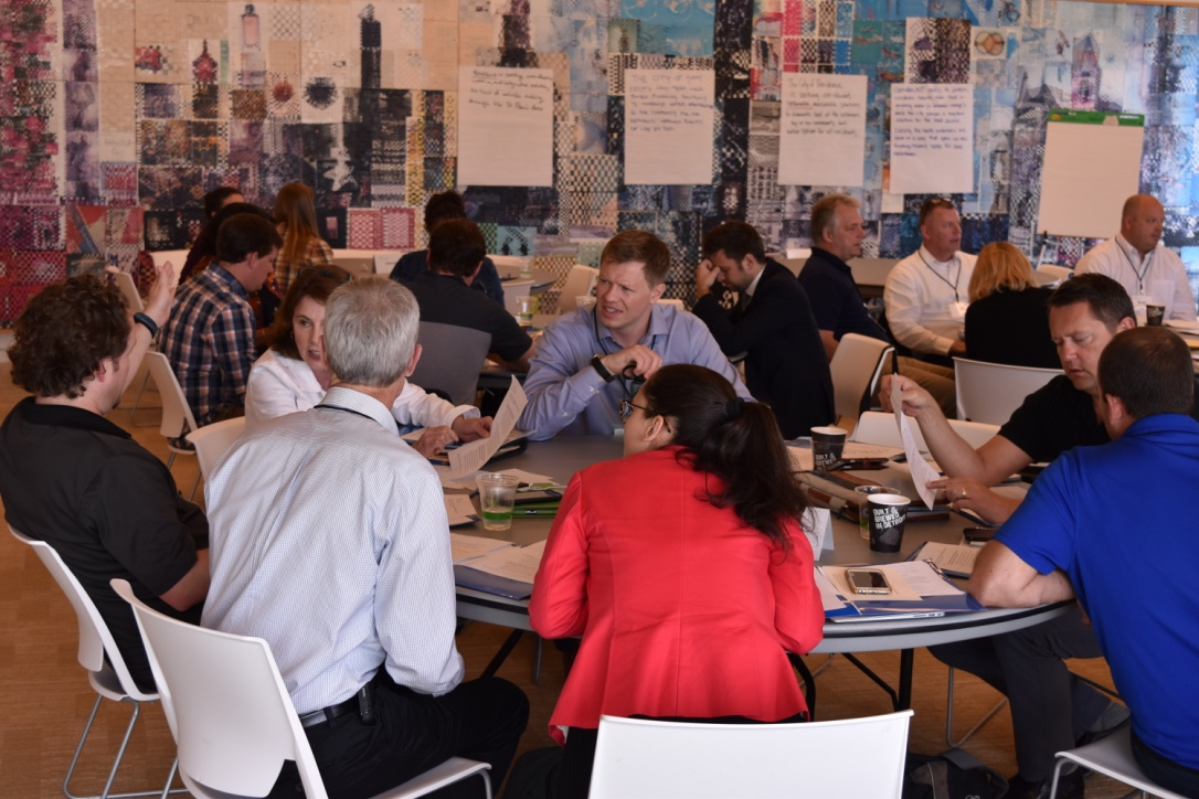 The toolkit was piloted by seven cities in a workshop in May 2018 at the Kresge Foundation.